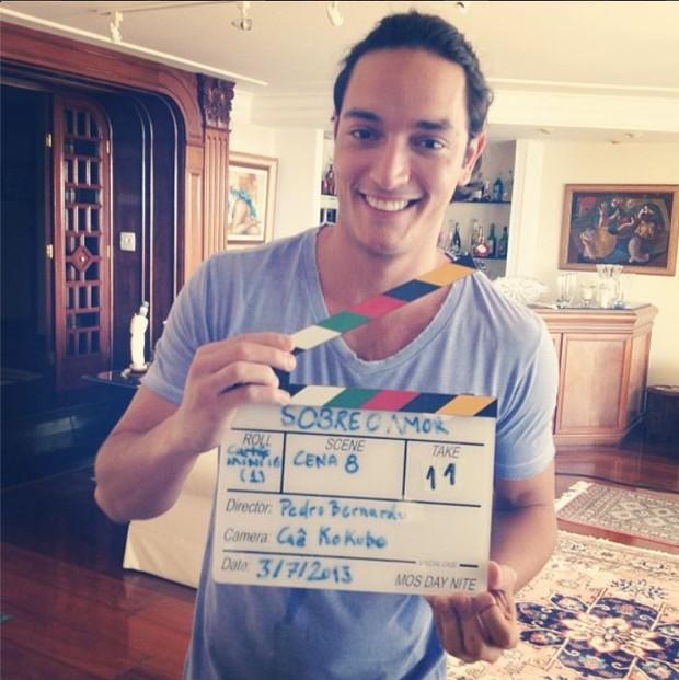 Allan Souza Lima é ator e diretor  (Foto: Instagram / Reprodução)