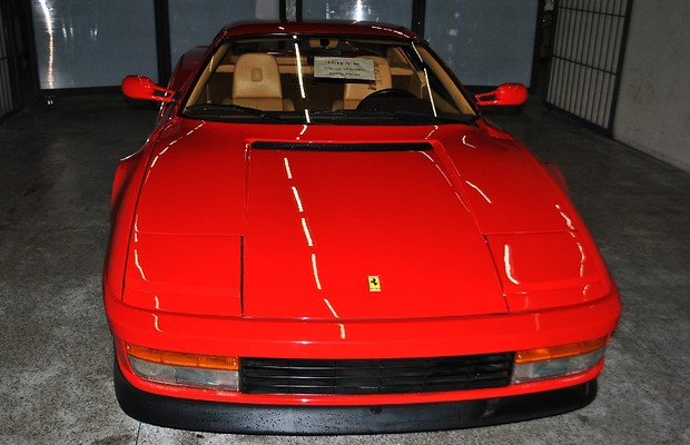 Ferrari Testarossa (Foto: Receita Federal)