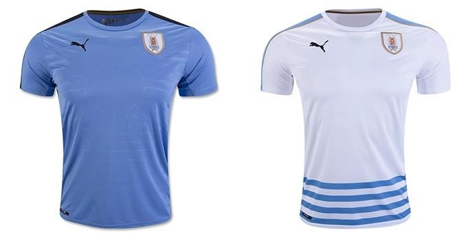 Camisa Uruguai Copa América Centenario