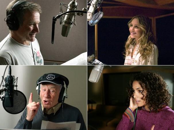 Estrelas como Robbin Willians, Amanda Bynes, Mel Brooks e Halle Berry dublam os personagens (Foto: Divulgação / Reprodução)