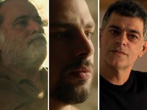 Tony Ramos, Cauã Reymond e Du Moscovis também estão no elenco (Foto: TV Globo)