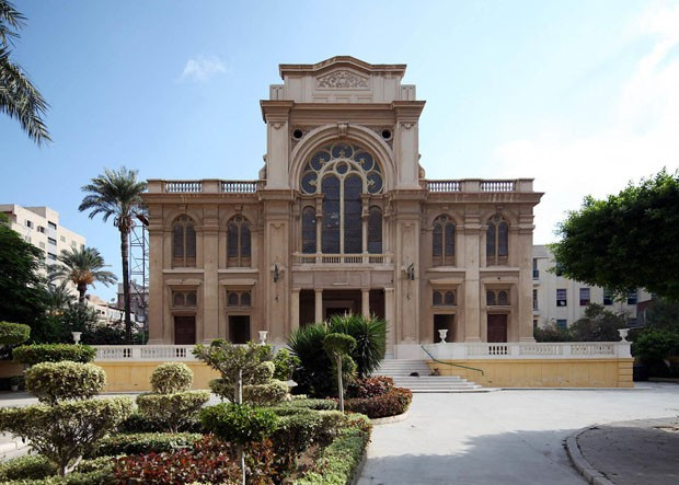 Site: Eliyahu Hanavi SynagogueCountry: EgyptCaption: Eliyahu haNavi Synagogue, Nabi Daniel Street, Alexandria, EgyptDate: 30 September 2012Photographer: Roland UngerProvenance: Wikimedia CommonsFULL UASAGE rights with attribution (Foto: Divulgação)