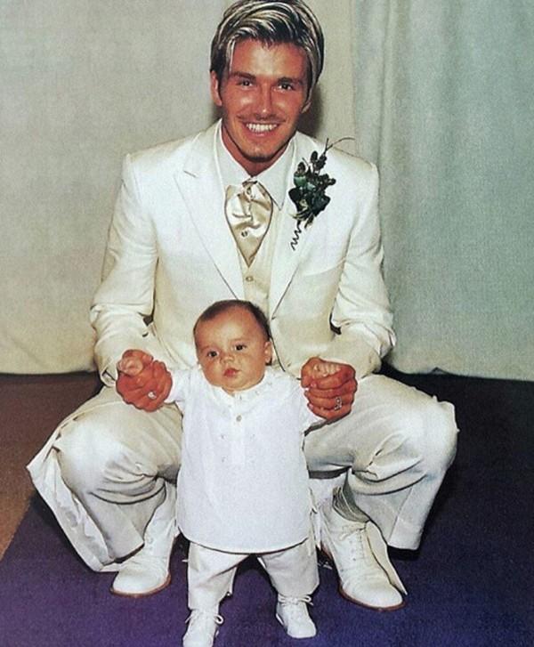David Beckham e o filho Brooklyn  (Foto: Reprodução / Instagram)