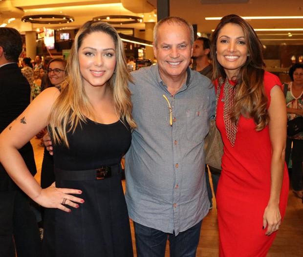 Tânia Mara, Jayme Monjardim e Patrícia Poeta (Foto: Anderson Borde/AgNews)