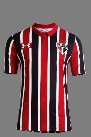 nova camisa são paulo (Foto: Divulgação)