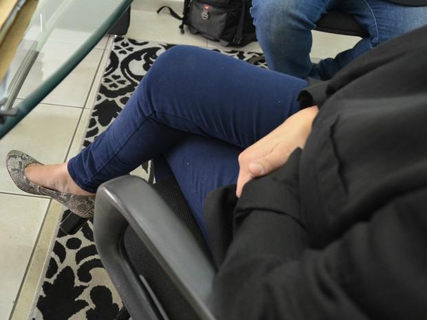 Agente diz que levou dois meses para fazer denúncia porque tinha medo (Foto: Adriano Oliveira/G1)