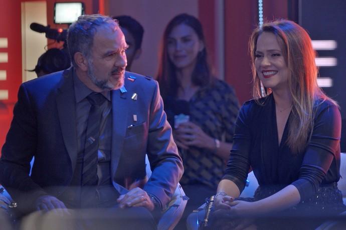 Lili se emociona com vitória de Eliza e Germano fica todo bobo (Foto: TV Globo)