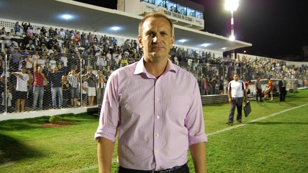 Luciano Silva, técnico do Treze (Foto: Jackson Rodineli / TV Paraíba)