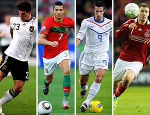 47056fe57e EUROCOPA Grupo B - Alemanha  Mario Gómez   Portugal  Cristiano Ronaldo    Holanda