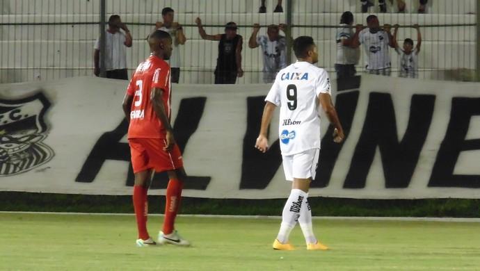 Kayke ABC 2 x 0 Potiguar de Mossoró (Foto: Carlos Arthur da Cruz/GloboEsporte.com)