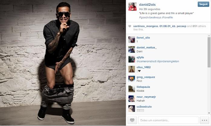 Daniel Alves Instagram Barcelona