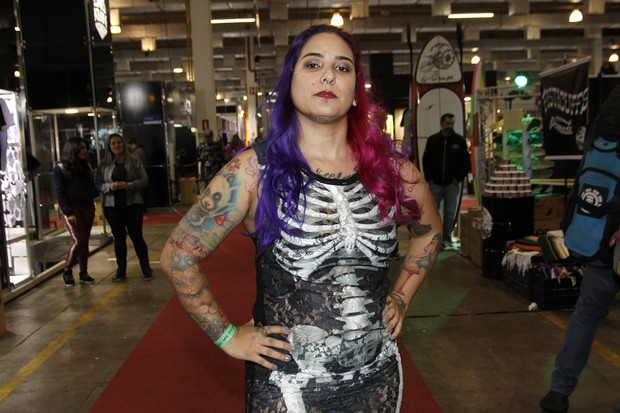 TATTOO WEEK (Foto: Celso Tavares/EGO)