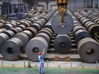 Minério de ferro cai abaixo de US$ 40 por tonelada, nova mínima de 10 anos