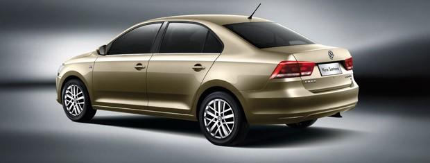 VW Santana é líder de mercado na China (Foto: Divulgação)