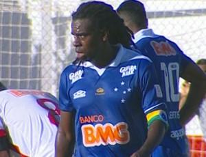 volante Tinga, do Cruzeiro (Foto: Reprodução \ Premiere FC)