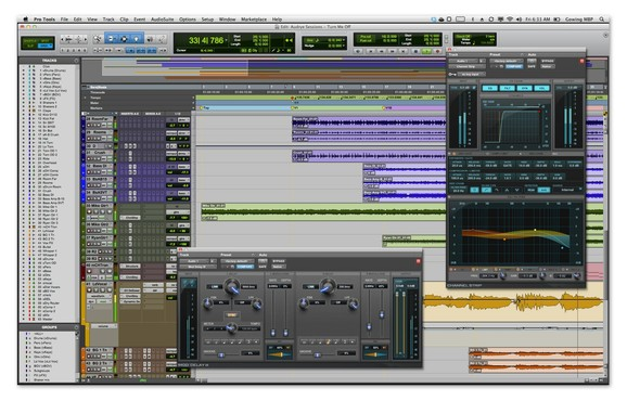 screenshot de Pro Tools