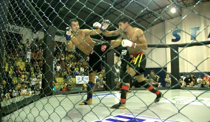 Edição do Cage Combat em Campo Grande (Foto: Divulgação/Fellems)