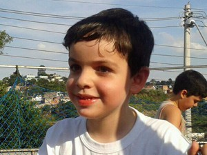 João Pedro, de 4 anos, faz a pré-escola na rede pública (Foto: Arquivo Pessoal)
