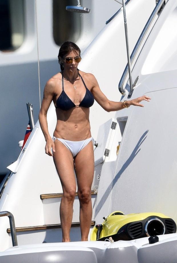 Mulher de Sylvester Stallone (Foto: AKM-GSI)
