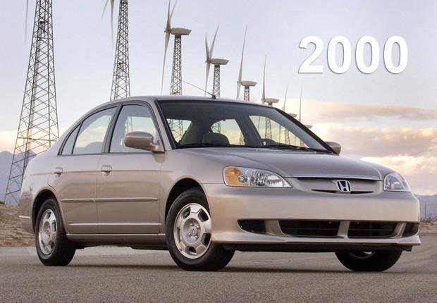 Sétima geração do Honda Civic, de 2000 (Foto: Divulgação)