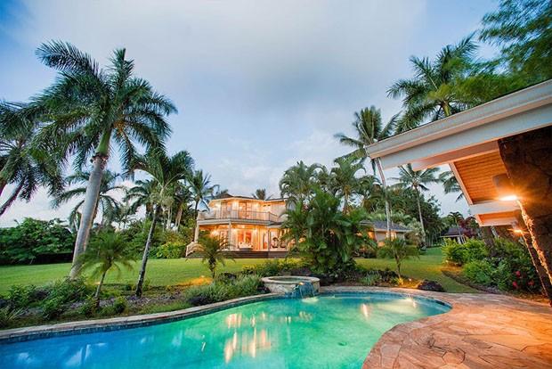 Will Smith and Jada Pinkett Smith vendem casa no Havaí por 12 milhões (Foto: Divulgação)