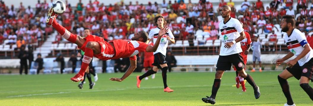 Veja os melhores momentos  do empate entre CRB e Santa Rita (Ailton Cruz/Gazeta de Alagoas)