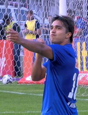 Marcelo Moreno, atacante do Cruzeiro (Foto: Reprodução / Premiere)