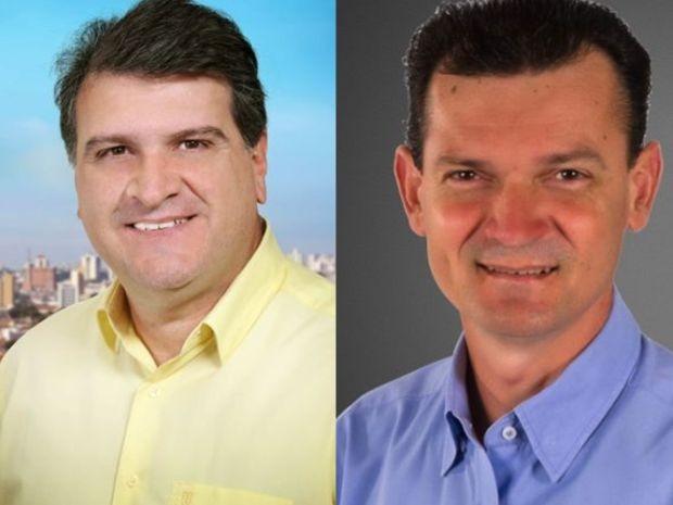 Clodoaldo Gazzetta (PSD) e Raul Gonçalves (PV) vão disputar o 2º turno das eleições em Bauru (Foto: Divulgação)