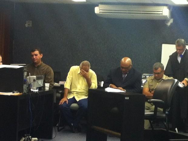 Réus são condenados pelo assassinato de Paulo Bandeira em 2003. (Foto: Michelle Farias/G1)