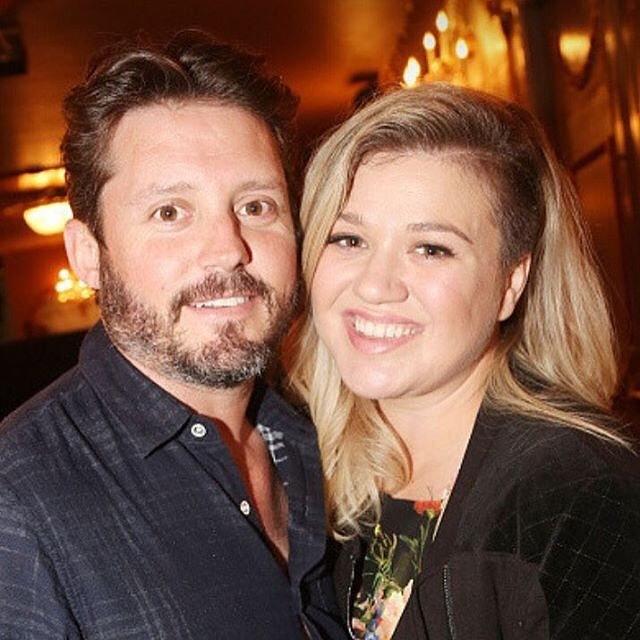 Kelly Clarkson e o marido (Foto: Reprodução)