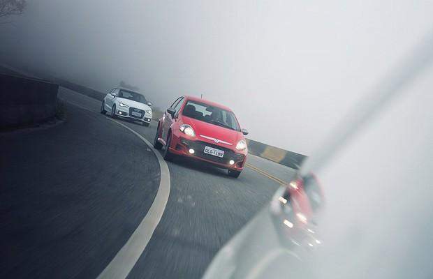 Audi A1 x Citroën DS3 x Fiat Punto T-Jet (Foto: Fabio Aro)