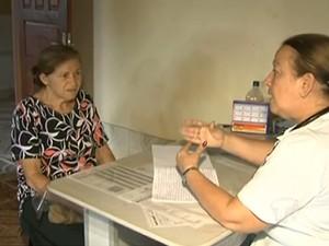 Atualmente Santarém conta com 17 profissionais do programa (Foto: Reprodução/TV Tapajós)