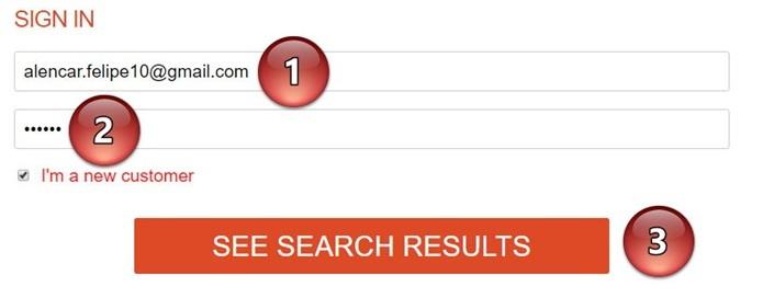 Digite um e-mail válido para receber os resultados (Foto: Felipe Alencar/TechTudo)