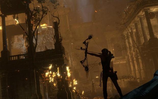 Ambientes de 'Rise of the Tomb Raider' são bem maiores que os do game anterior (Foto: Divulgação/Microsoft)