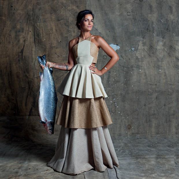 Renata Vanzetto para a Vogue Brasil (Foto: Rogério Cavalcanti/Arquivo Vogue)