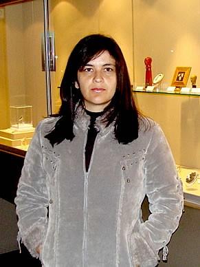 Daniela Newman, professora de Mineralogia da UFES (Foto: Divulgação)