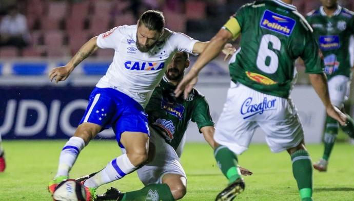 Uberlândia x Cruzeiro (Foto: Daniel Teobaldo/Cruzeiro)