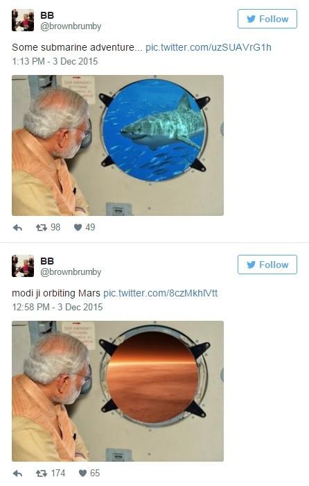 O episódio virou motivo de piada na internet