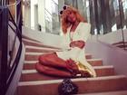 Loiríssima, Rihanna visita casa de Coco Chanel em Paris