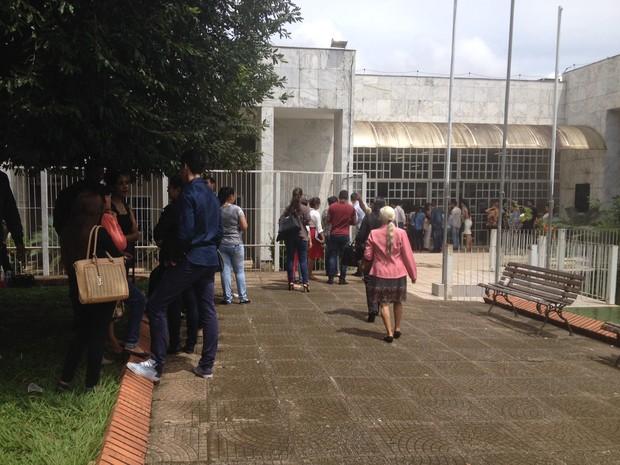 Julgamento Naiara Karine 2016, em Porto Velho, RO, terceiro dia (Foto: Ísis Capistrano/G1)