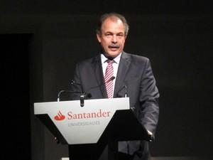 O ministro da Educação, Aloizio Mercadante (Foto: Paulo Guilherme/G1)