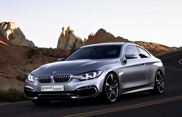 BMW Série 4 Coupé Concept (Foto: Divulgação)