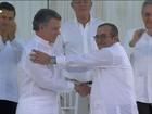 Colombianos votam neste domingo se aprovam acordo de paz com as Farc