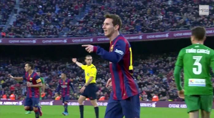 Messi Barcelona Levante