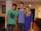 Bruno Gissoni e Tammy Di Calafiori prestigiam estreia de peça no Rio