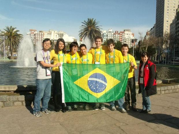 Delegação brasileira que participou da competição na Argentina (Foto: Divulgação)