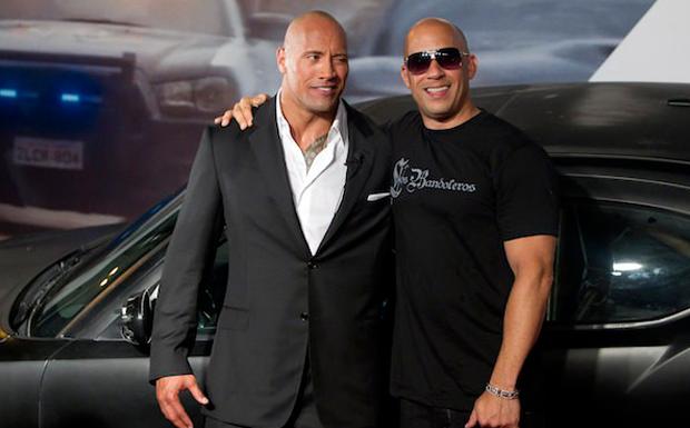 Dwayne Johnson e Vin Diesel esto confirmados para 'Velozes e Furiosos 9' (Foto: Divulgao)