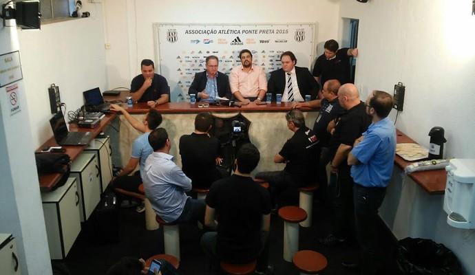 Vanderlei Pereira presidente Ponte Preta (Foto: Carlos Velardi / EPTV)