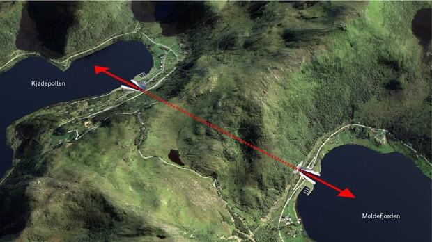 Conheça o primeiro túnel para navios do mundo (Foto: The Norwegian Coastal Administration/Divulgação)