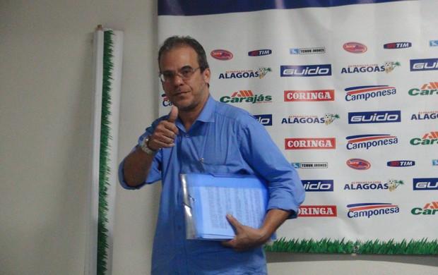Jurandy Torres, candidato à presidência do CSA (Foto: Caio Lorena / Globoesporte.com)